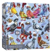 Pigeons of Britain 1000 Piece Puzzle Gibsons Jigsaws